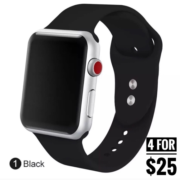 Accessories - 4 for $25 SALE!!!! Apple Watch 42mm Sports Band